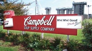 The Campbell Soup Company plant has been operating in Napoleon, Ohio since the 1940s.