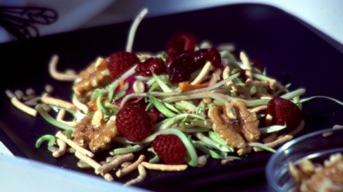 Cran-raisens add a nice flavor to this easy salad.