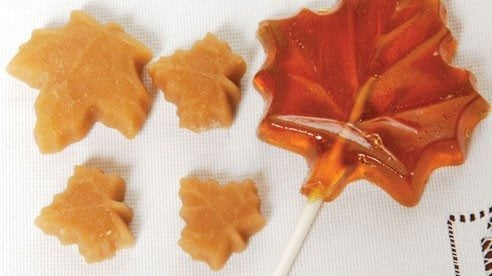 Maple sugar candies made by Eddie Lou Meimer