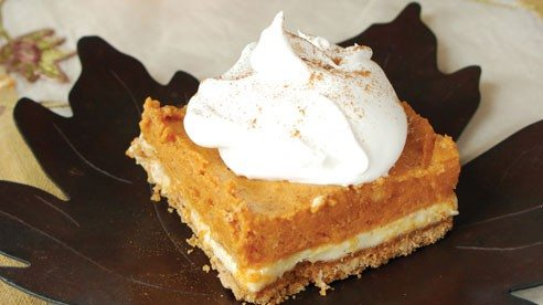 Try this pumpkin torte at your next holiday gathering.