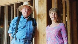 Jeff Orr, who manages an Amish building company, and Jayne Siersdorfer hope their home will be a prototype for green building.