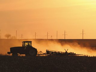 OFBF believes that the costs of regulating rual dust in would likely outweigh any benefit. Photo by istockphoto.com