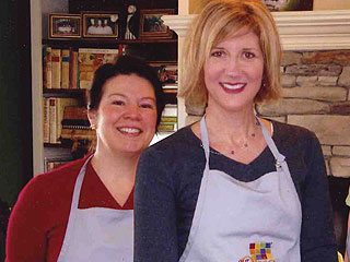 Kim Rassi (l) and Peggy Buck were the winners of Our Ohio Chef Tami contest. Photo by Molly Pensyl