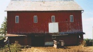 A before and after (previous photo) of the 105-year-old Madison County barn that was restored by John and Joanna Mitchell. Before images courtesy of Joanna Mitchell.