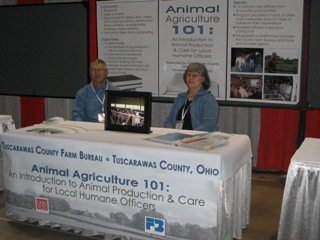 Rita and Jerry Lahmers at AFBF