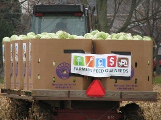The Farmers Feed Our Needs cabbage harvest was named the best PR Campaign