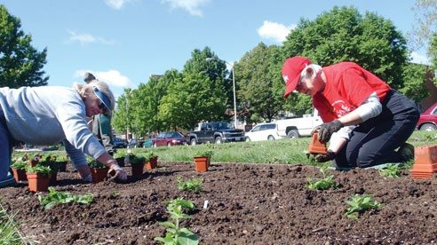 OSU Extension's Master Gardener Volunteer Program provides intensive training in horticulture to Ohio residents who then volunteer their time assisting with educational programs and activities.