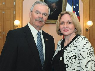 Fisher spoke in support of a bill introduced by Sen. Karen Gillmor (r) that aims to increase the use of bioproducts Ohio