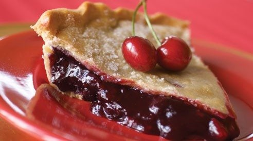Fruit pie can be made any time of year with in-season fresh fruits or frozen fruits.