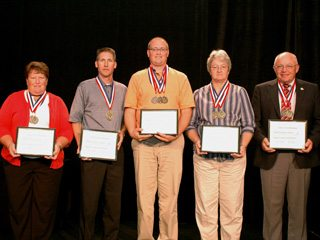 2009 President's Award winner county representatives
