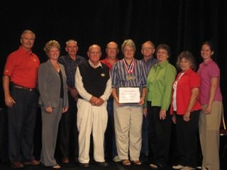 Harrison County Receiving President's Award