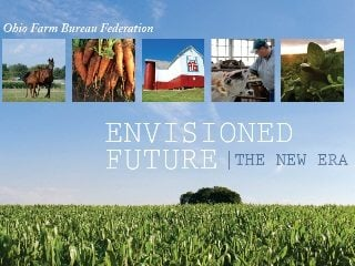 The Envisioned Future Report gathered input from more than 2,800 Ohio Farm Bureau members