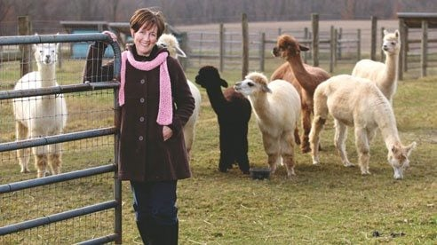 Karen Burke is a farmer and founder of the Ohio Natural Fiber Network.