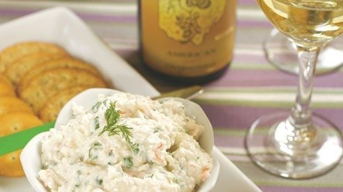 Tina Meranda of Meranda-Nixon Winery in Ripley shares her favorite recipe featuring the winery's luscious reserve Chardonnay, a complex, full-bodied dry white wine with buttery oak and honey flavors that compliment this rich seafood dip.