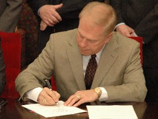 Gov. Strickland signed HB 414 on Wednesday, immediatiely enacting the Ohio Livestock Care Standards Board.