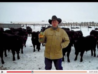 South Dakota rancher Troy Hadrick's YouTube protest helped fuel outcry against Yellow Tail for its donation to HSUS.