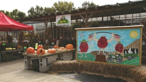Rosby's has a garden center and 16-acre berry picking farm just 5 miles from downtown Cleveland.