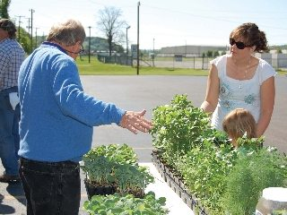 The Hocking County Farm Bureau helped start the Hocking Hills Farmers Market in Logan.