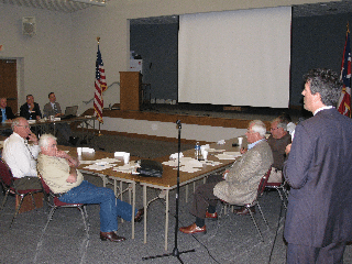 HSUS CEO Wayne Pacelle provided public comments during a recent meeting of the Ohio Livestock Care Standards Board