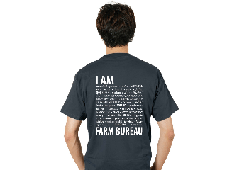 Join or renew your membership in Farm Bureau during the Review and receive this free T-shirt.