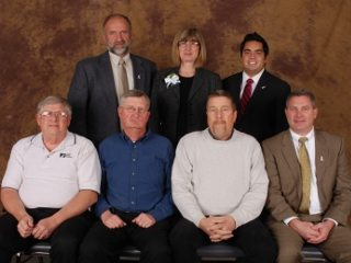 Ross County Delegates to the Ohio Farm Bureau Annual Meeting.