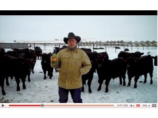 South Dakota rancher Troy Hadrick's YouTube protest helped fuel outcry against Yellow Tail Wine for its donation to HSUS