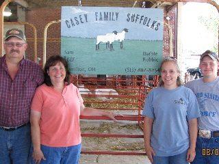 Casey Family Suffolks