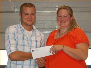 Derek Schmitt, 2010 Fairfield County Farm Bureau Scholarship Recipient