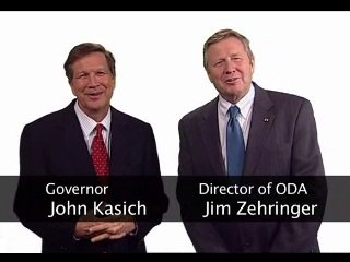 Click the video above to watch an agricultural message from Kasich and Zehringer.