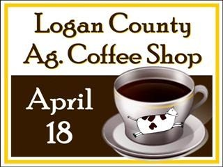 Logan County Farm Bureau's Ag Coffee Shop is one of many opportunties available in the coming weeks