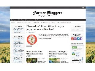 Farmerbloggers.com is like a daily newspaper for what's happening on farms across the country