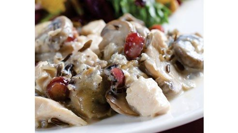 Adding whole grains to your diet is a wise and tasty choice. Wild rice adds a nice texture to this chicken casserole too.