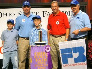 From left: David & Steve Hirsh, Troy Elwer, Mike Townsley, Jack Fisher (complete caption at end of story)
