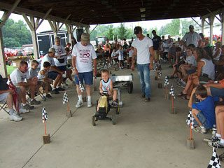 Pedal Tractor Pull -fun for all ages
