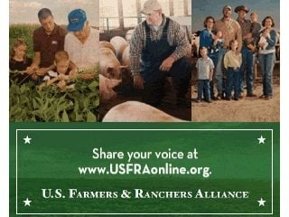 U.S. farmers and ranchers are encouraged to let their voices be heard at USFRAonline.org.