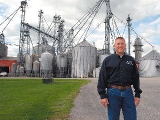 Pat Hord says its not the size of his farm, but a passion for feeding people that motivates his family.