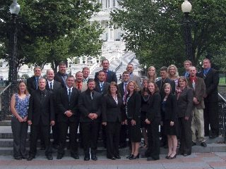 Ohio Farm Bureau's Young Agricultural Professionals recently met with lawmakers and other leaders in Washington, D.C.