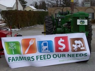 Food Drive Nov 1 -18 at the Farm Bureau office