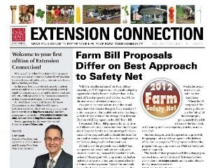 Extension Connection will be published quarterly in Ohio Farm Bureau's Buckeye Farm News