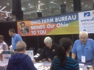 Stop in at the Farm Bureau/OurOhio booth