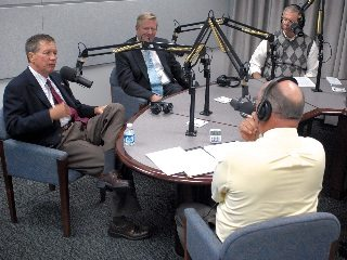 Among the show's guests: Gov. John Kasich