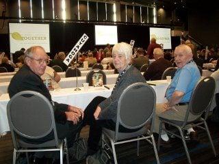 L-R  David Peth, Joyce Peth, Gerald Wilson