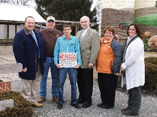The Farm Bureau Property Protection Service proved to be a benefit to Butler County Farm Bureau member Tom Theobald.