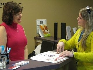 Nationwide Associate Agent and Vice President of Jennings & Associates Inc, Margie Jennings talks to Cara Lawson of OFBF