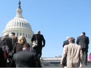 Ohio's county Farm Bureau presidents ascended Capitol Hill to meet their legislators.