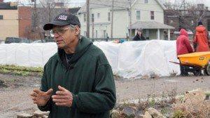 Gerry Gross, farm manager at Stanard Farm. Photos by Ken Chamberlain
