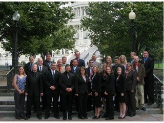 2011 Young Ag Professionals Washington, D. C. Leadership Experience participants