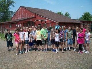 Ms. Paulus's third grade class at Stearns Homestead
