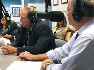 Listen to ODA Director Dave Daniels (l) and other Town Hall Ohio guests at www.townhallohio.org or subscribe on iTunes.