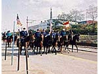 photo of 2004 Horse March in downtown Cleveland